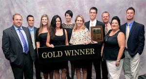 HHHunt Homes Raleigh Team Wins Gold Parade of Homes Awards