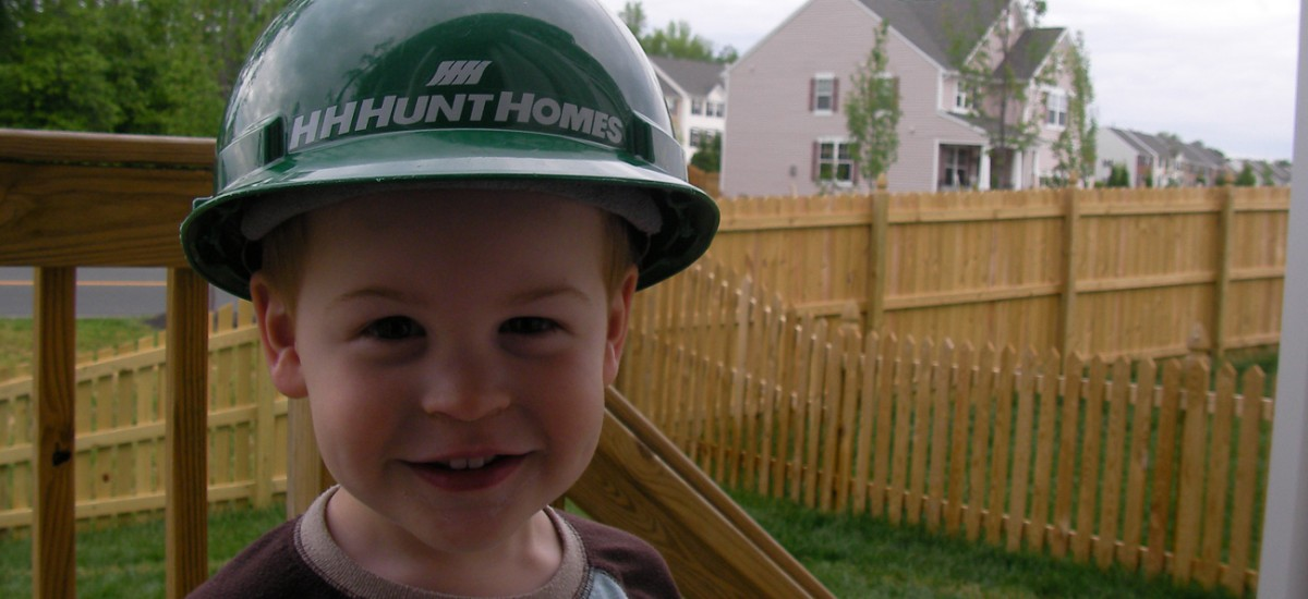HHHunt Little Boy Hard Hat