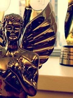 MarCom Award Statue