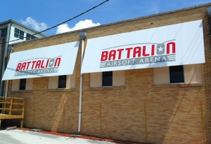 Battalion Airsoft Arena Outdoor Awnings