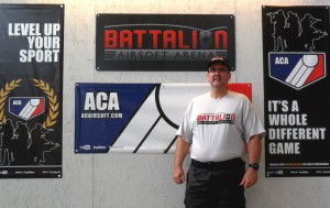 Battalion Airsoft Arena Owner Chris Webster
