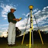 Clary & Associates Surveyor Reads GPS Control