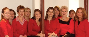 Clary & Associates Go Red for Women Day