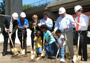D.R. Horton at Sulzbacher Center Groundbreaking Ceremony