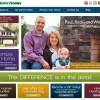 HHHunt Homes Website Home Page