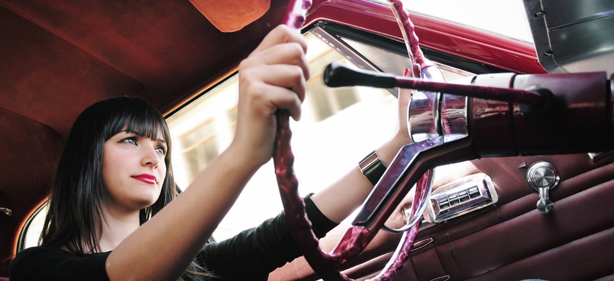 Woman Behind Wheel Web Slider2